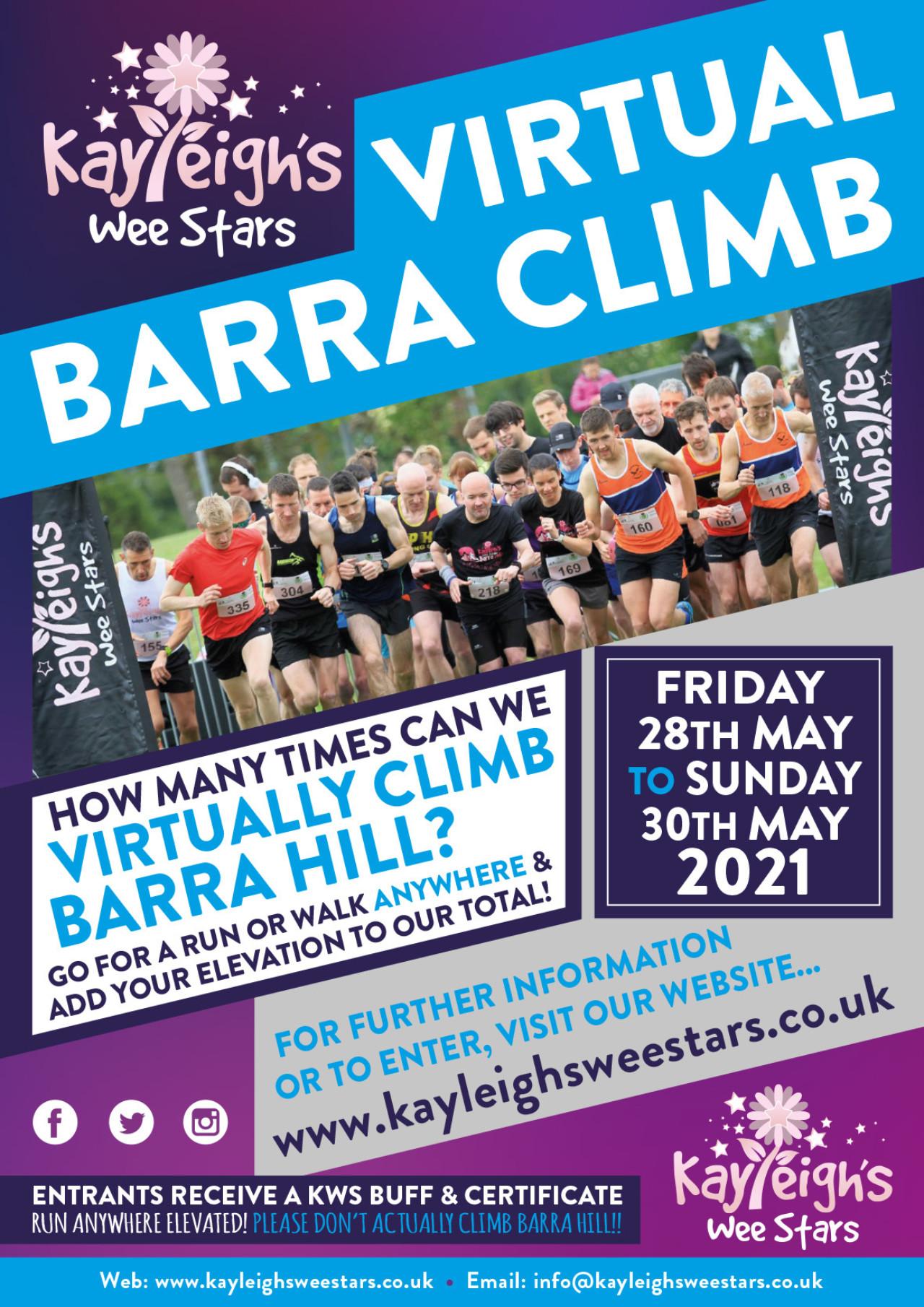 KWS Virtual Barra Climb